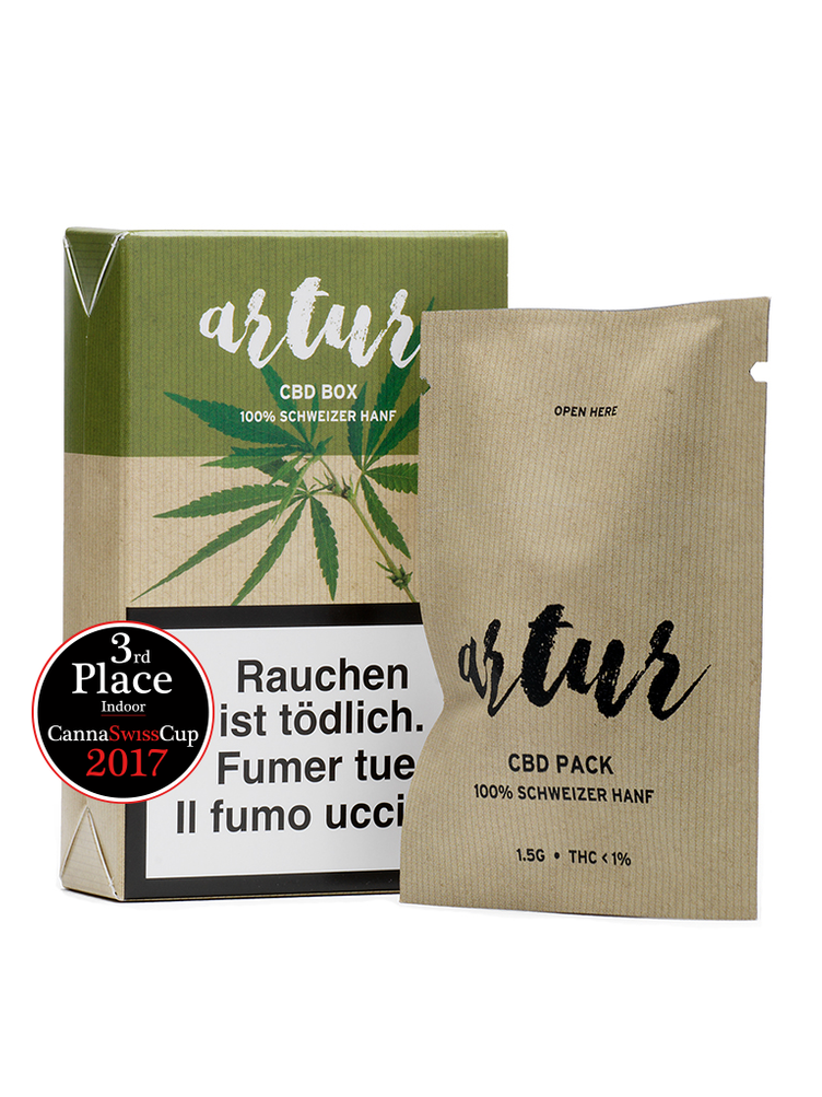 Artur 1.5g CBD Box No. 1